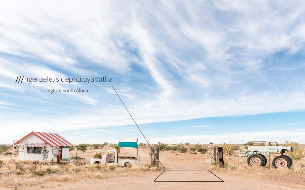 South African what3words
