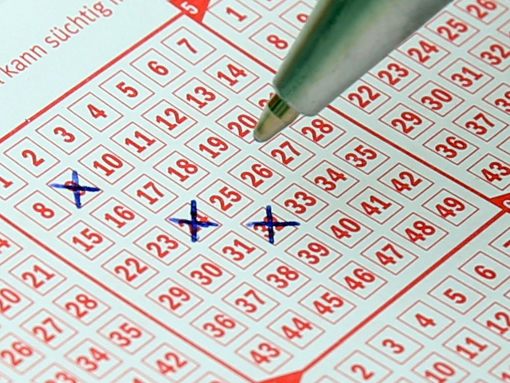 lotto cards