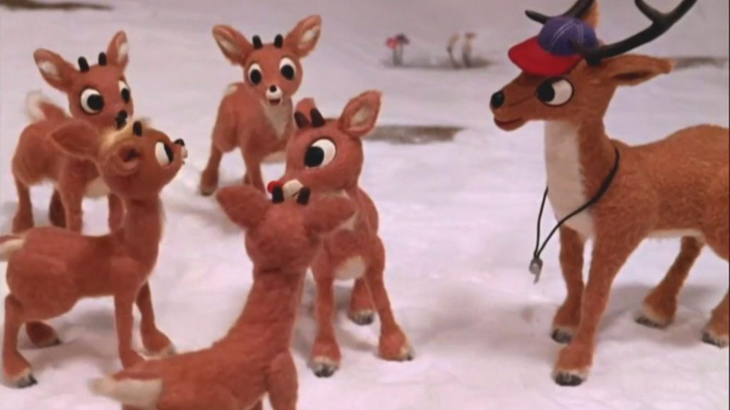 Rudolph and the other reindeer