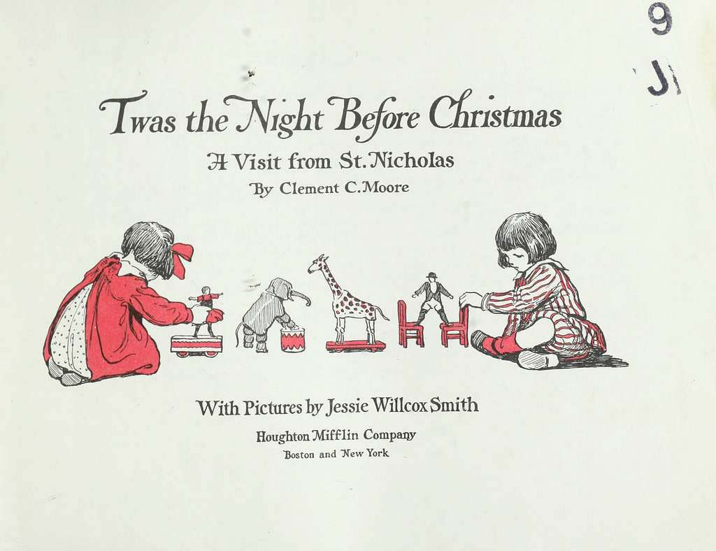 book cover to Twas the Night Before Christmas