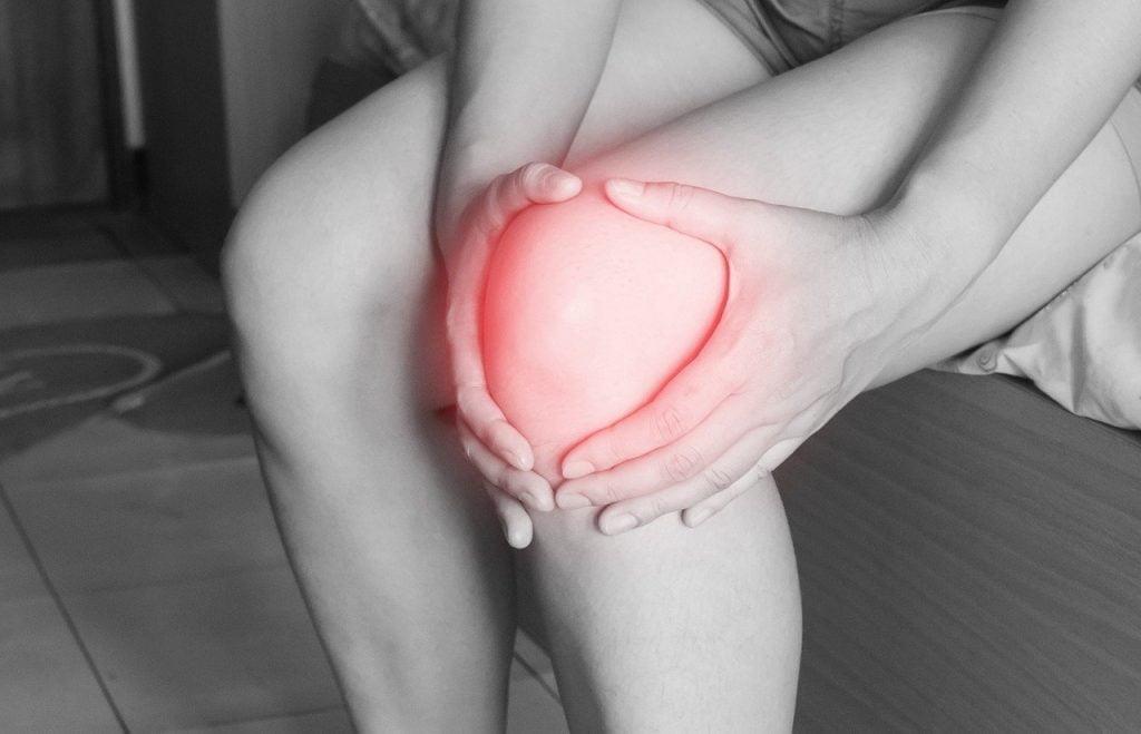 an injured knee