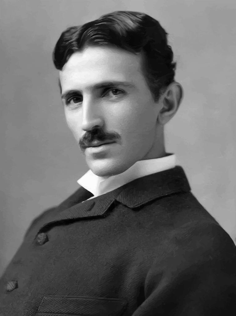 Tesla as a young man
