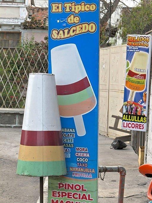 Typical Salcedo ice cream