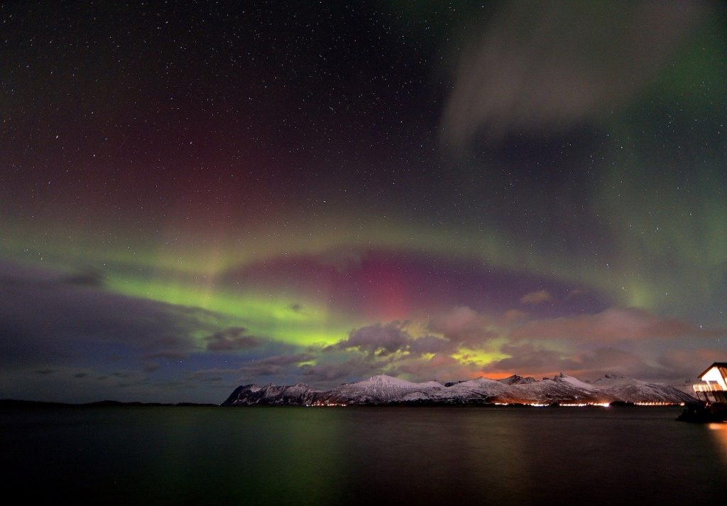 The Northern Lights in Norway;