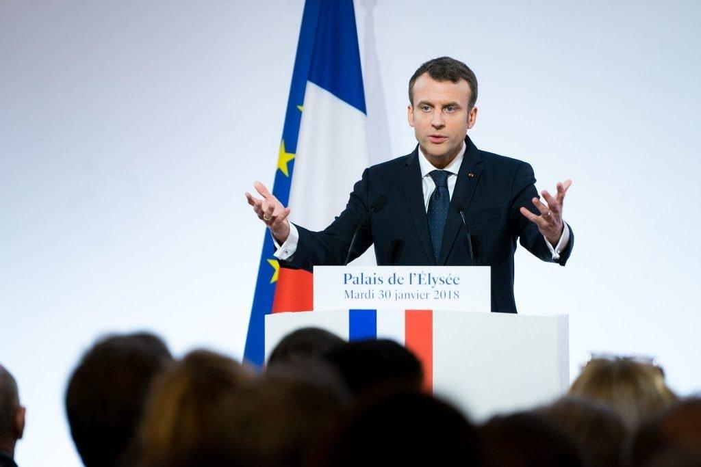 Emmanuel Macron, President of France;